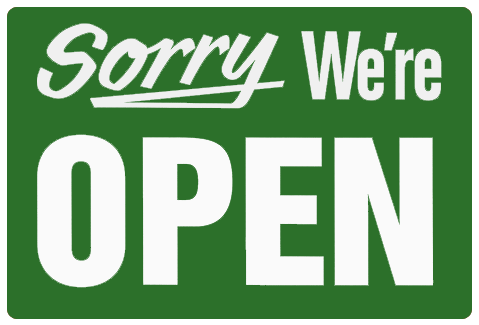Sorry, we're open! - The Warsaw Hackerspace is open right now.